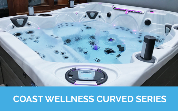 Coast Wellness x Series Hot Tubs