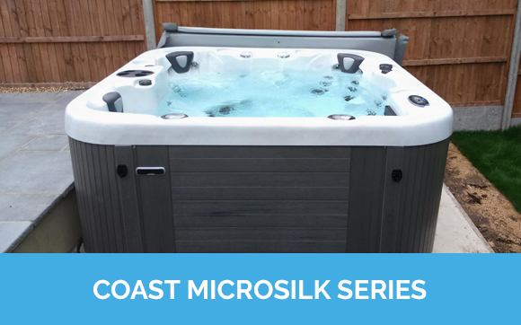 Coast Microsilk Series Hot Tubs